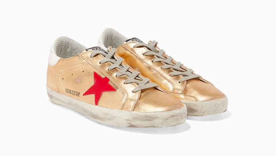 dfc39c9d03dc0 Husband and wife duo Alessandro Gallo and Francesca Rinaldo, use  traditional Italian craftsmanship to create contemporary sneakers with luxe  finishes.