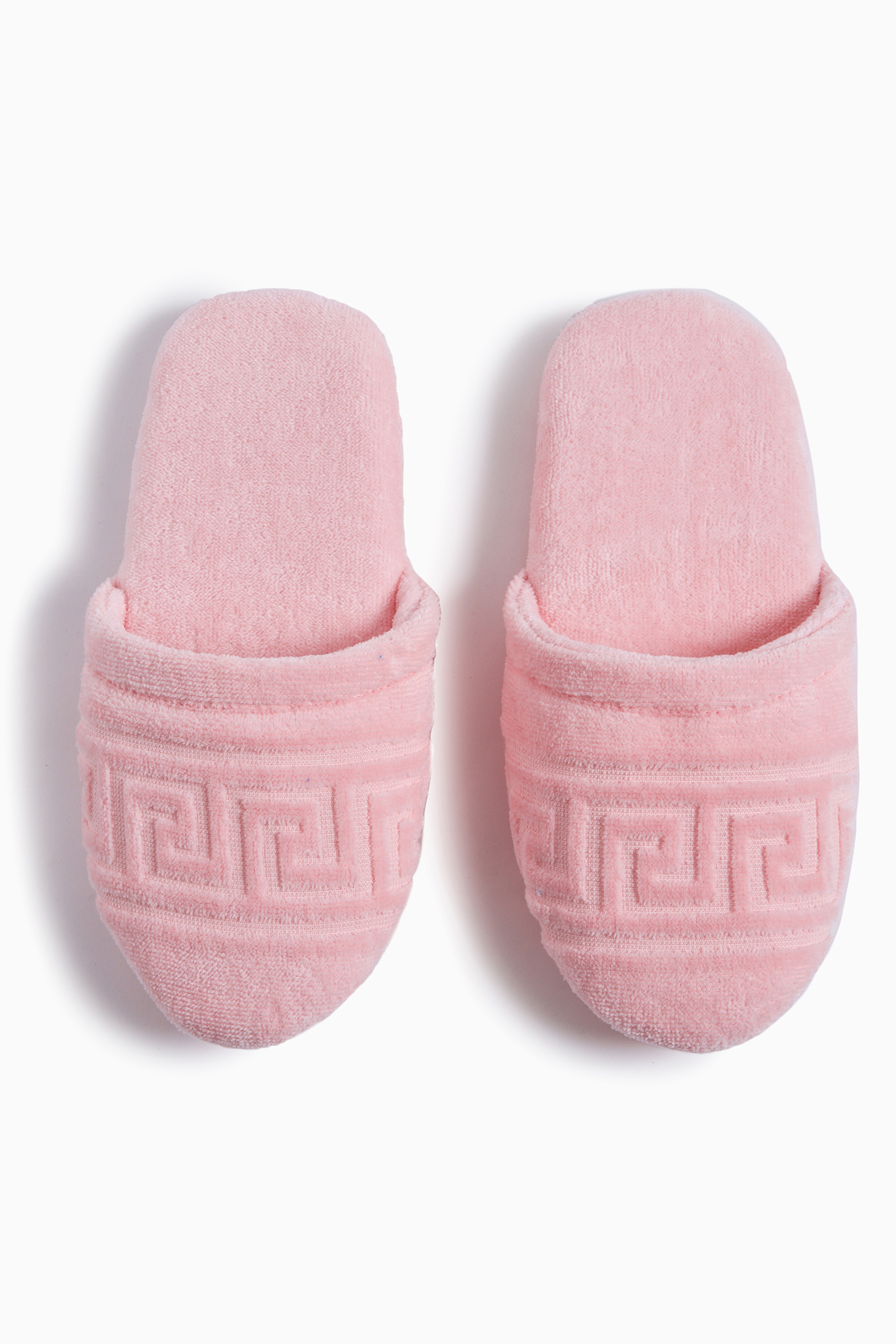versace slippers pink