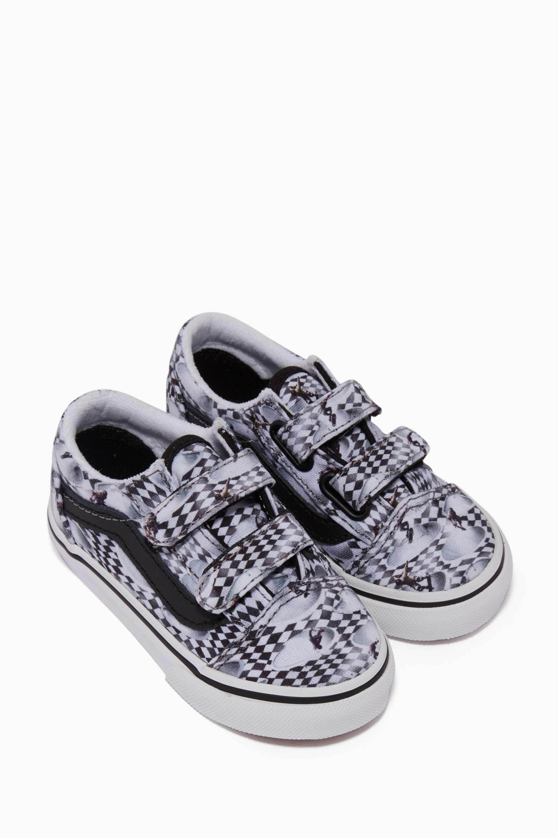 Shop Vans Multicolour X Molo Old Skool V Sneakers for Kids