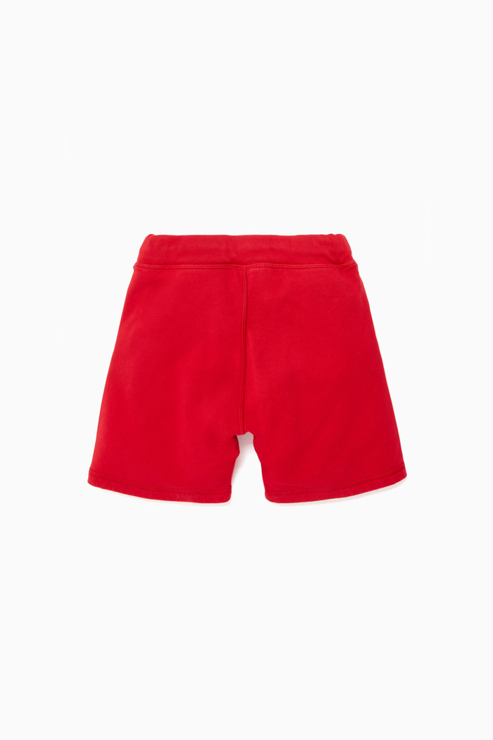 Dsquared2 Red Logo-Print Short