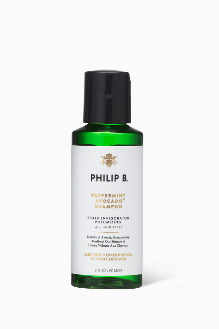 Peppermint & Avocado Volumising & Clarifying Shampoo, 220ml