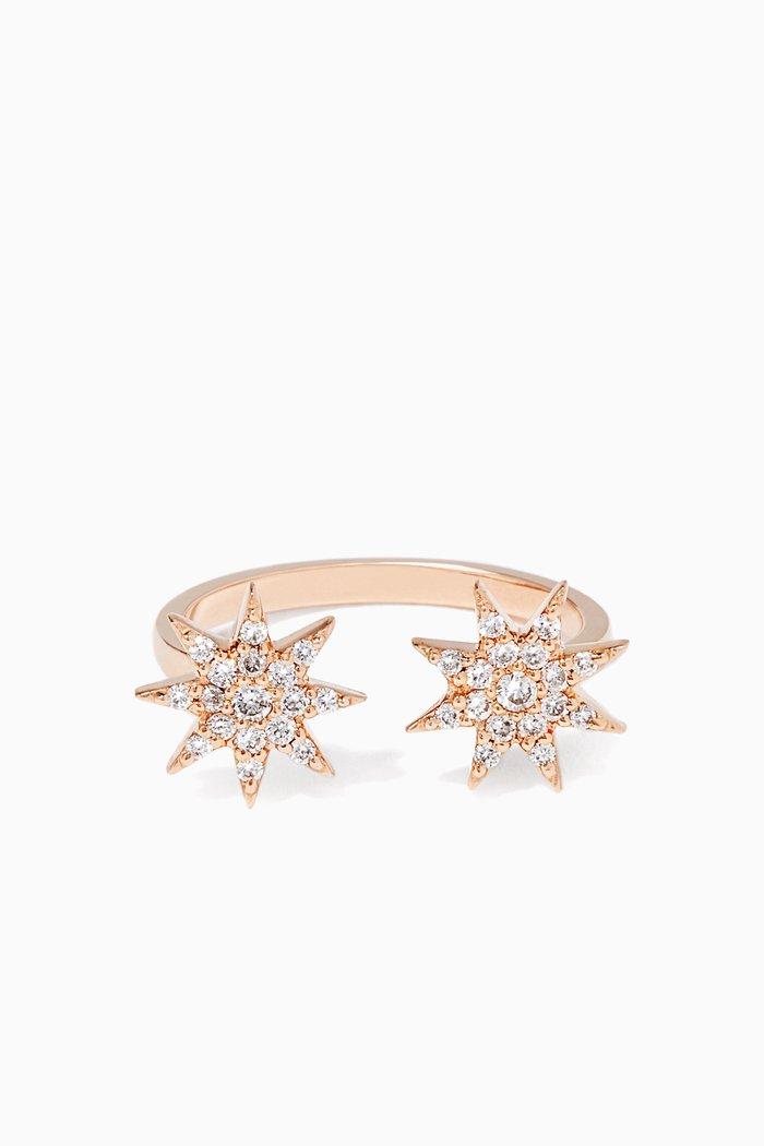 Diamond Ishtar Star Ring