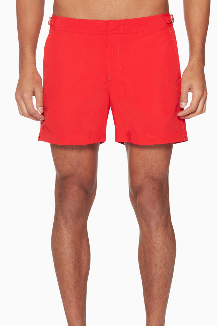 Rescue-Red Swim Shorts