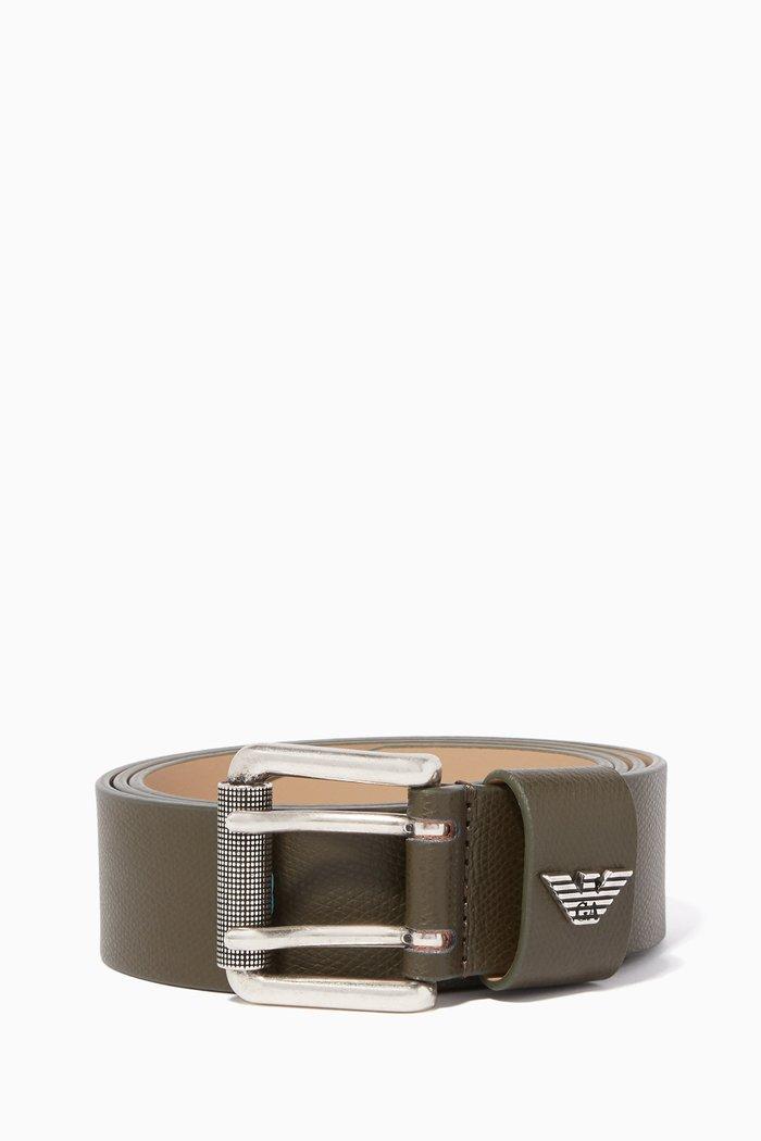 Double Buckle Fastening Belt