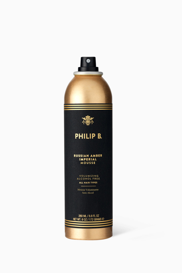 Russian Amber Imperial Volumising Mousse, 200ml