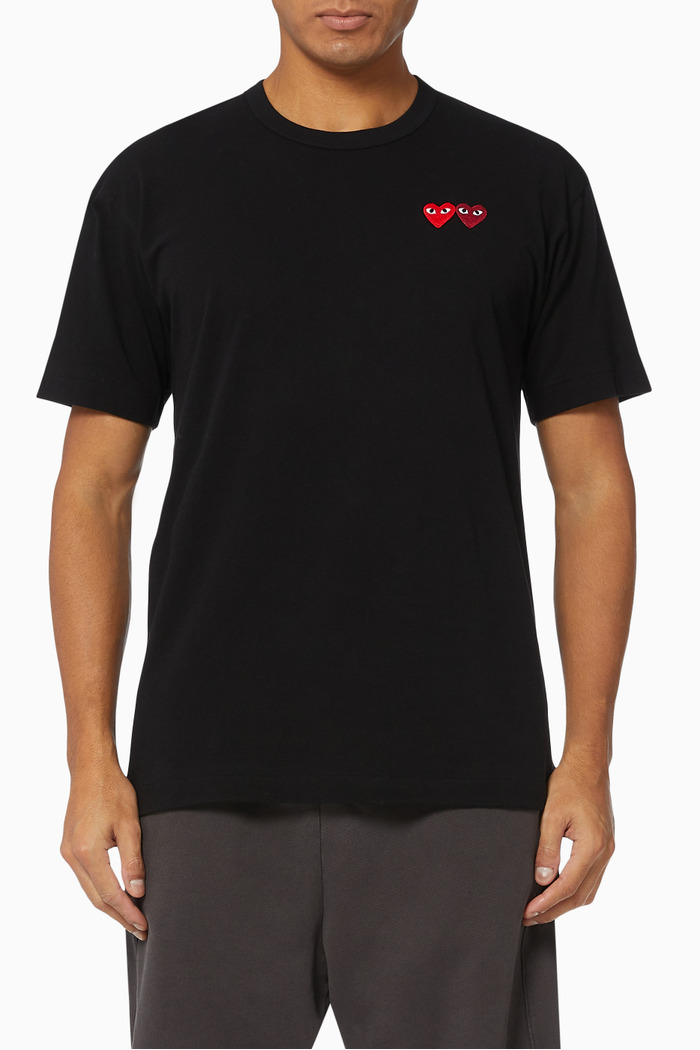 Logo Appliqué Cotton T-shirt