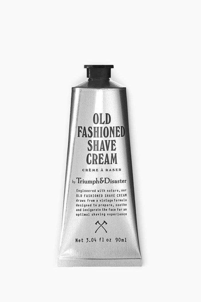 Old Fashioned Shave Cream Tube, 90ml