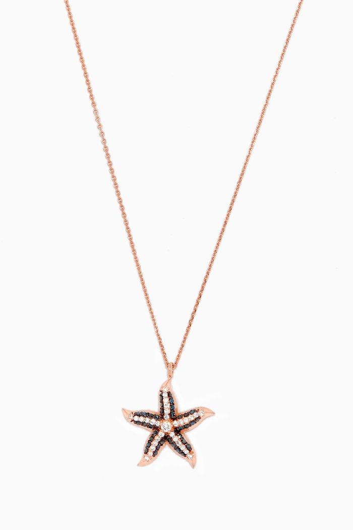 Rose-Gold & Diamond Starfish