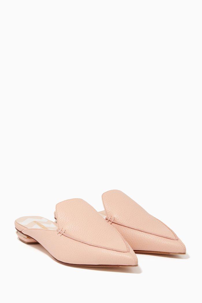 Light-Pink Beya Loafers