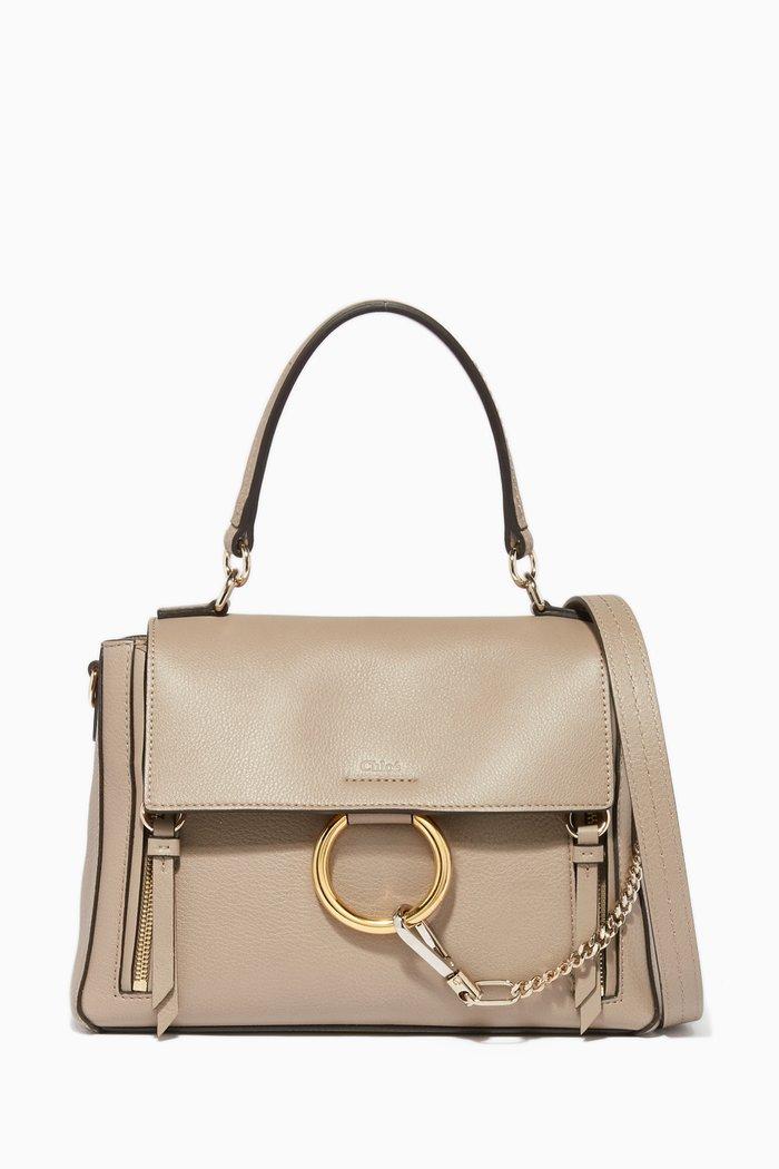 Motty Grey Small Faye Day Bag