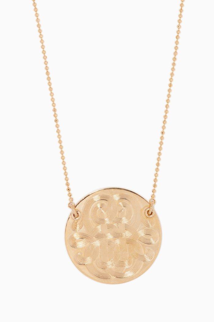 Gold Large Diva Necklace