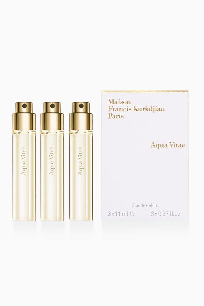 Aqua Vitae Eau de Parfum Refills, 3 x 11ml