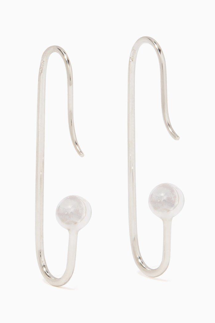 Silver Mini Marion Earrings
