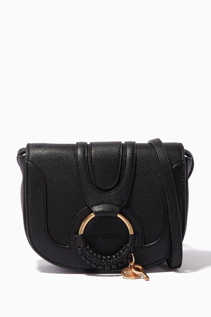 Black Small Hana Shoulder Bag