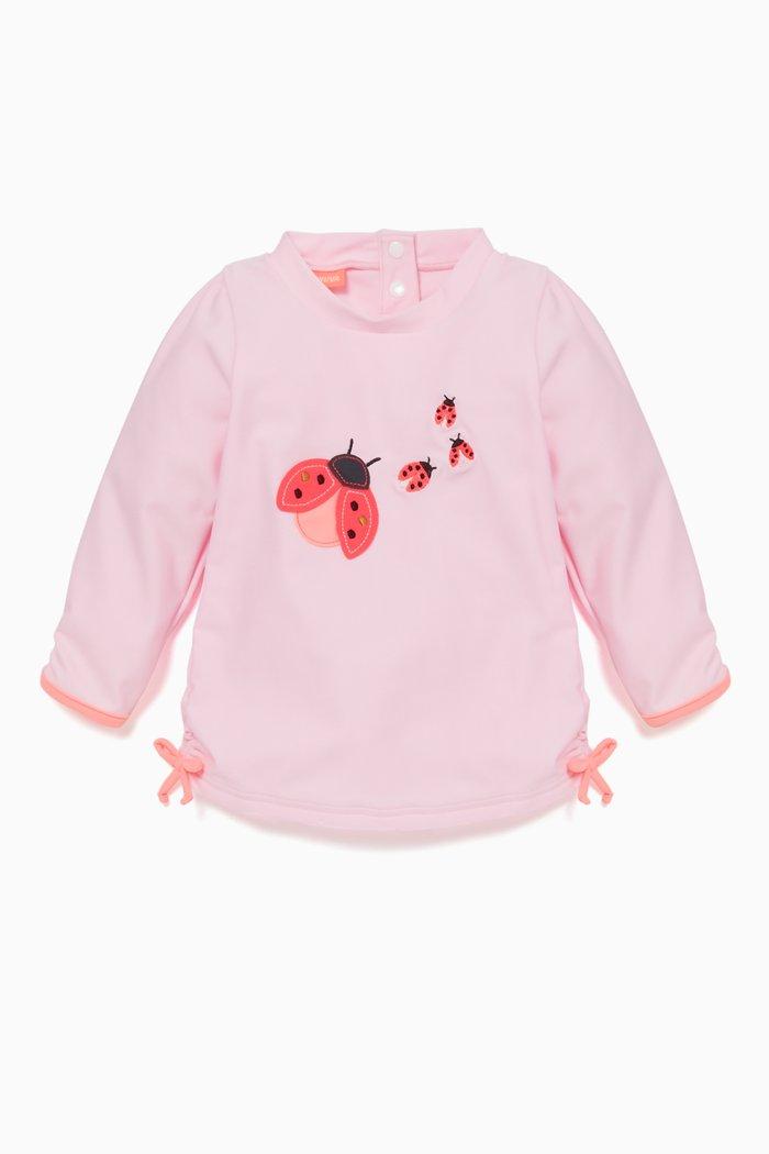 Pink Ladybird Classic Rash Top