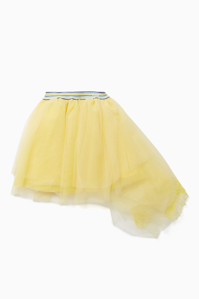 Tulle and Organza Skirt