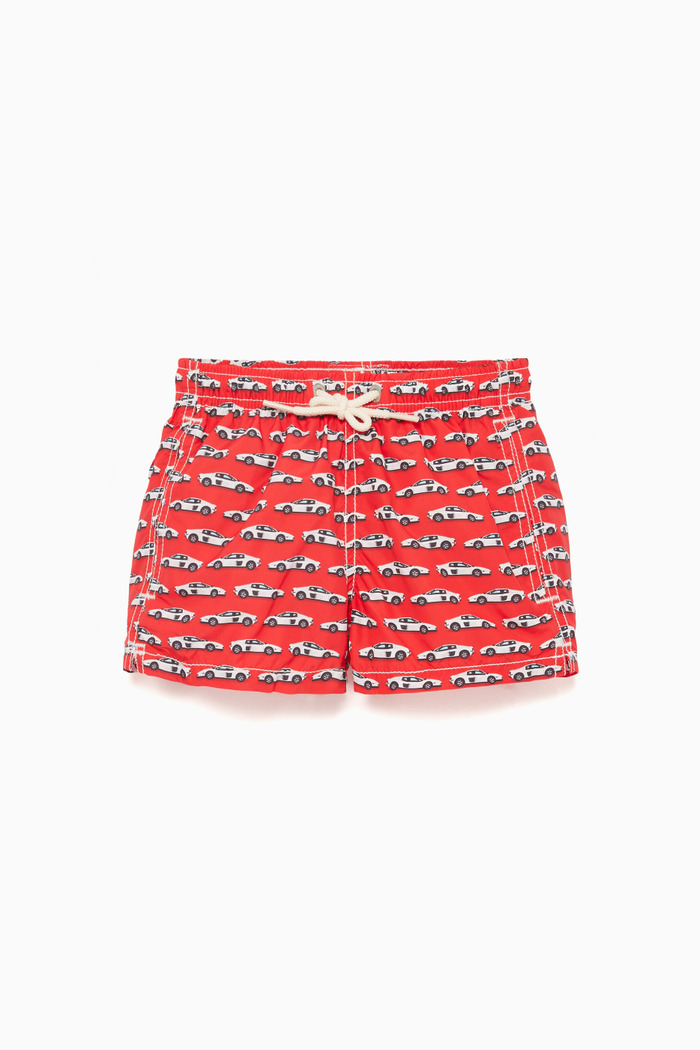 Sporty Car Swimming Trunks