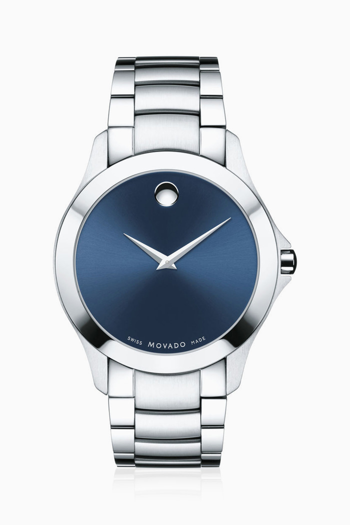 Masino Blue Dial Stainless Steel Watch