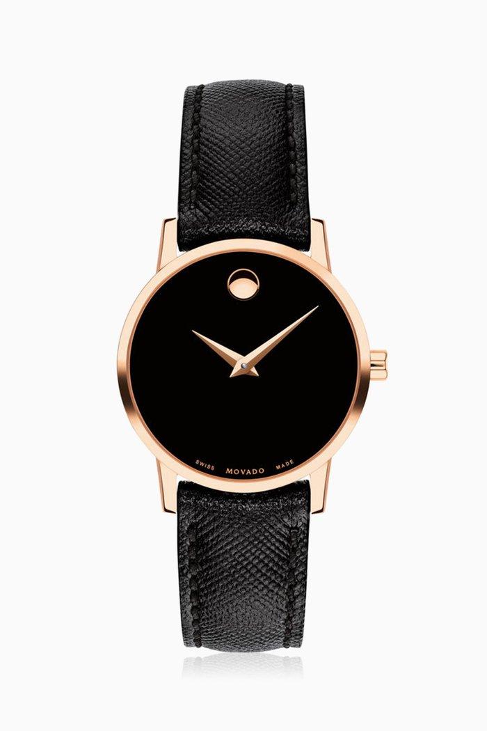 Museum Black Dial Watch