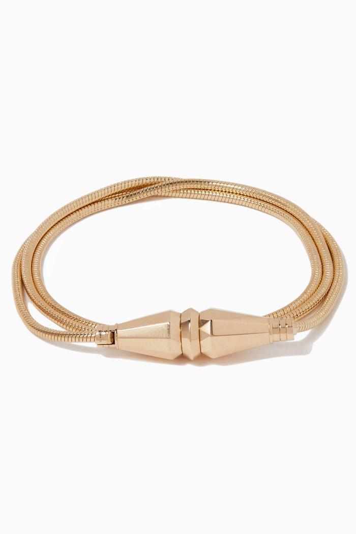 Jack De Boucheron Triple Wrap Necklace Bracelet