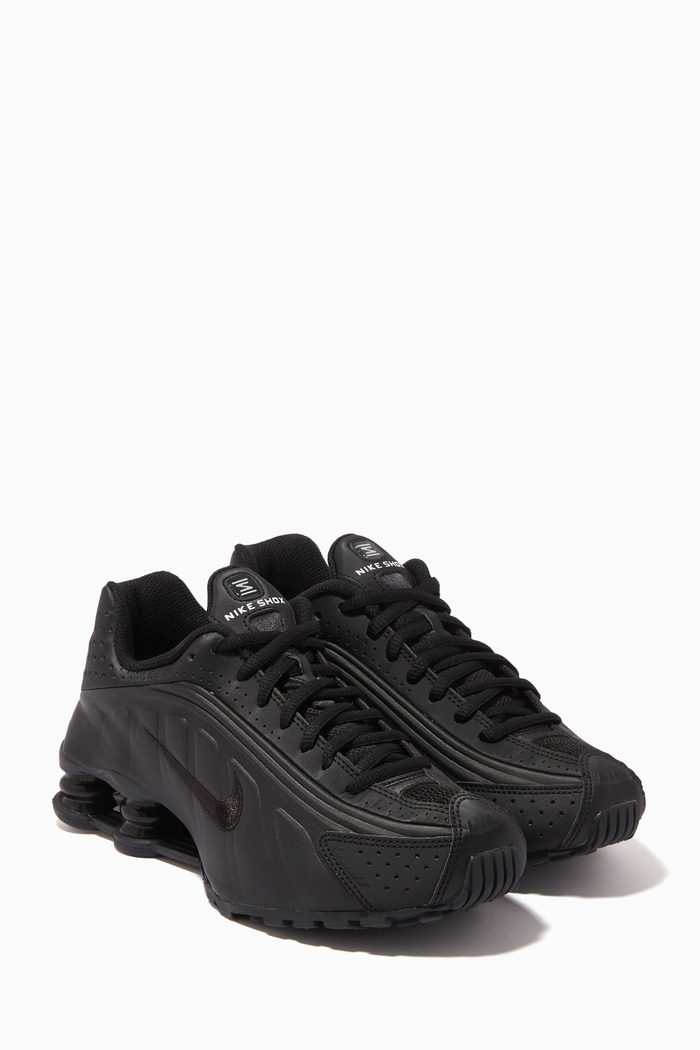 Shox R4 Perforated Sneakers