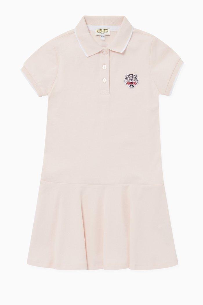 Logo Embroidered Polo Dress