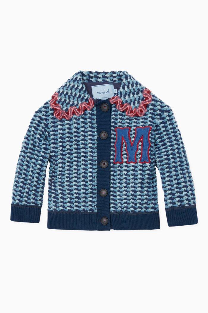 Wool M Applique Boucle Jacket