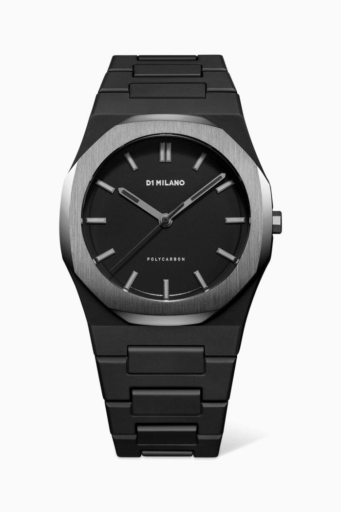 Polycarbon 40mm Space Grey Watch
