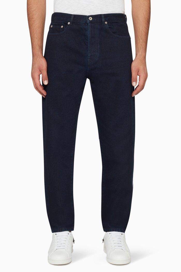 Vintage V Logo Jeans