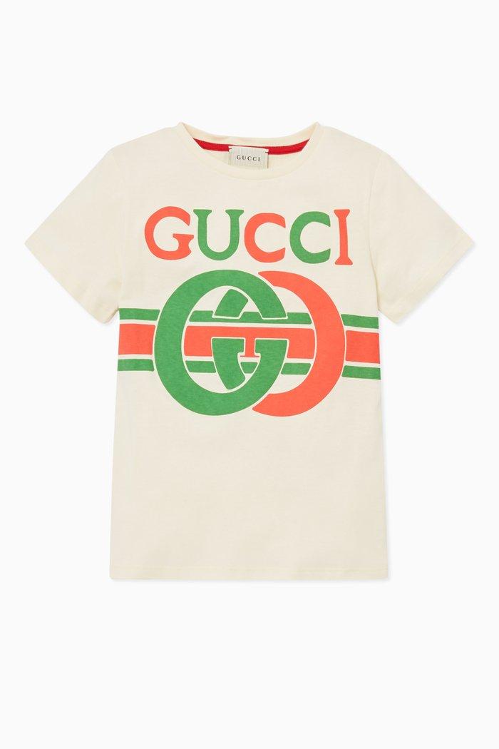 GG Logo Print T-shirt