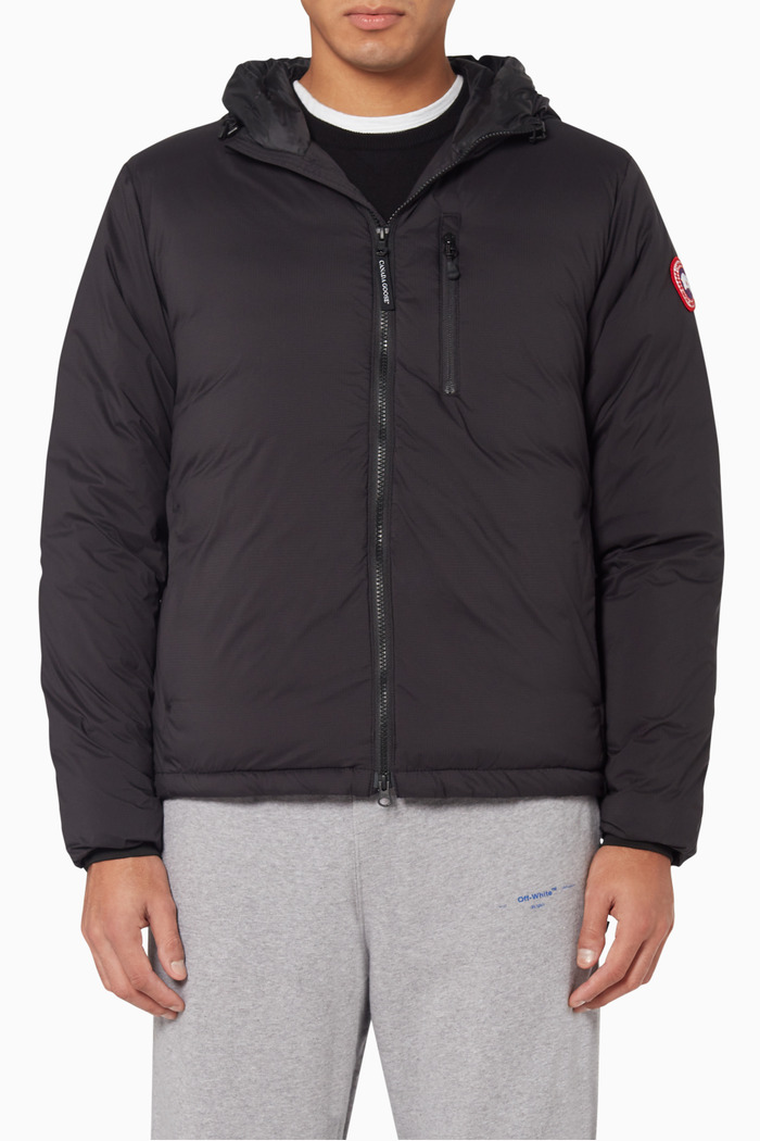 Lodge Hooded Down Jacket