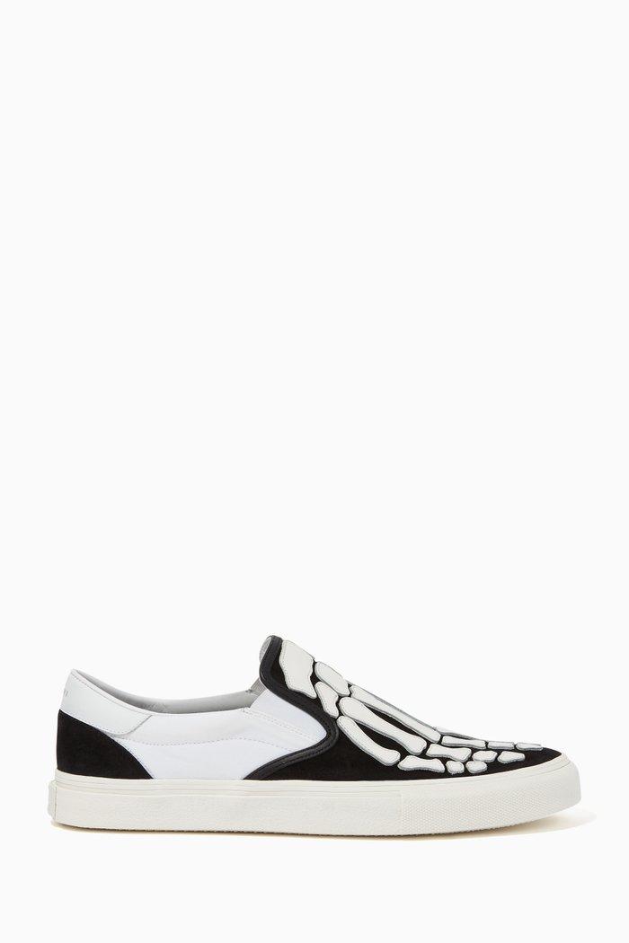 Skel Toe Leather Loafers
