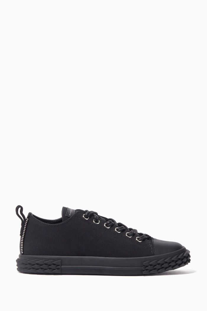 Blabber Low-Top Canvas Sneakers