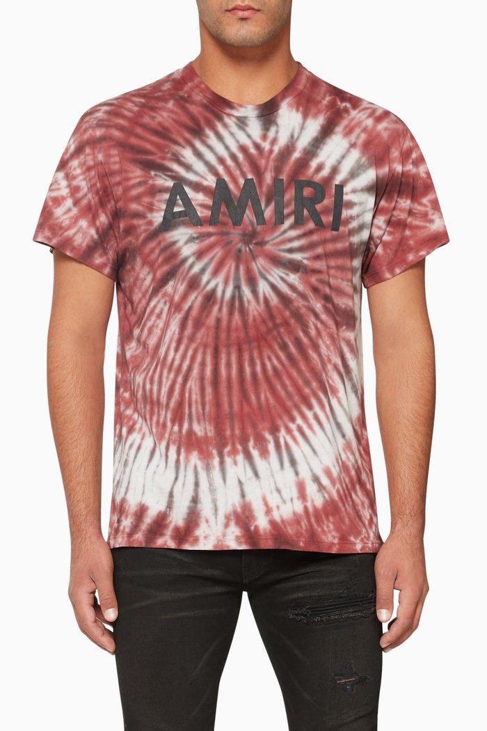 Tie-Dye Logo Print T-Shirt