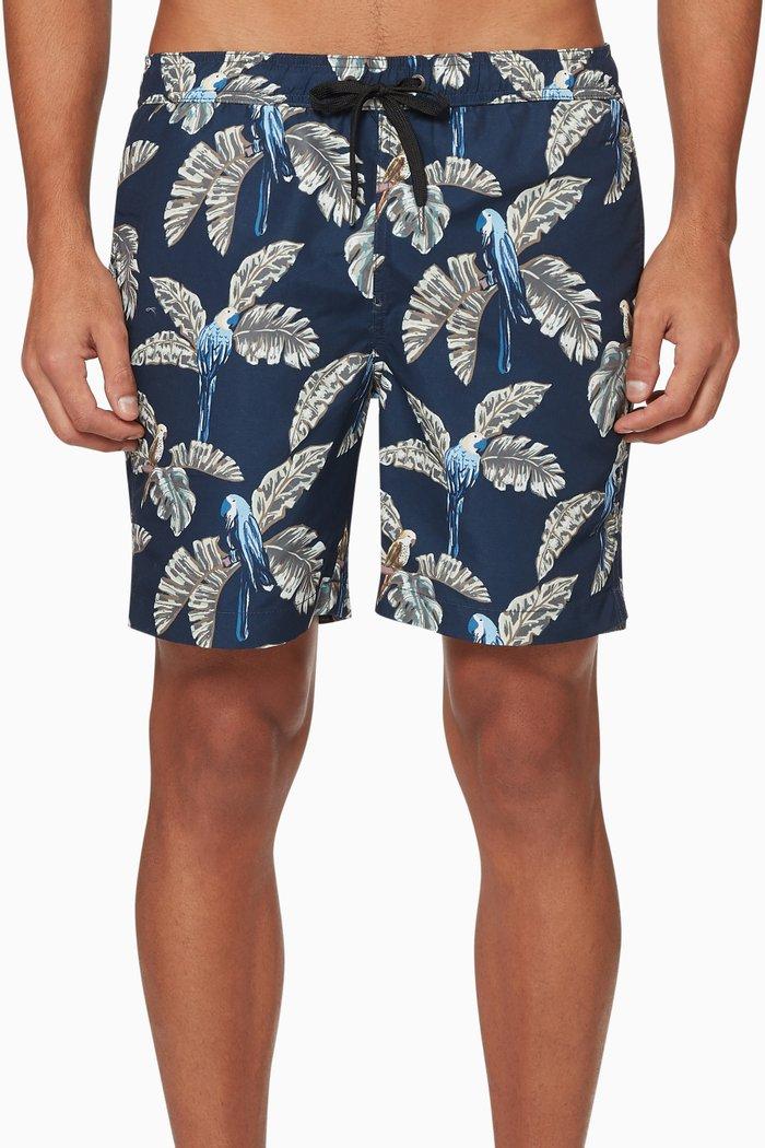 """Charles 7"""" Swim Shorts"""