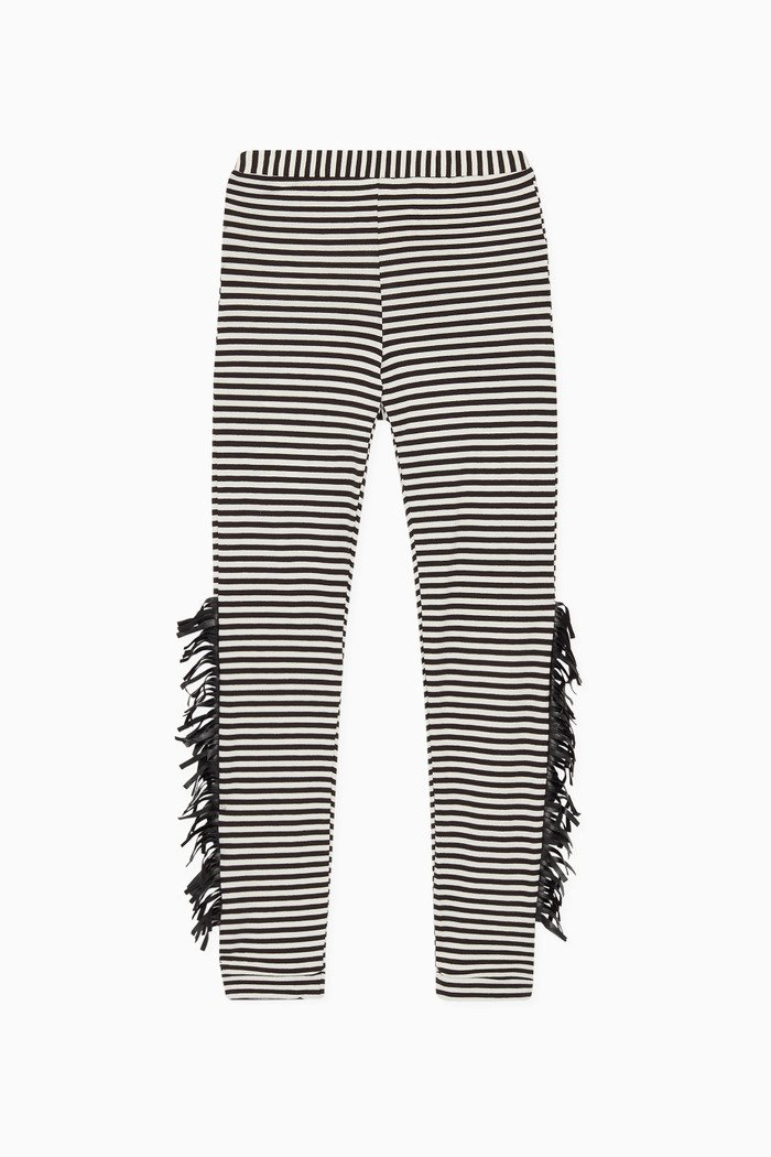 Wayne Striped Jersey Leggings