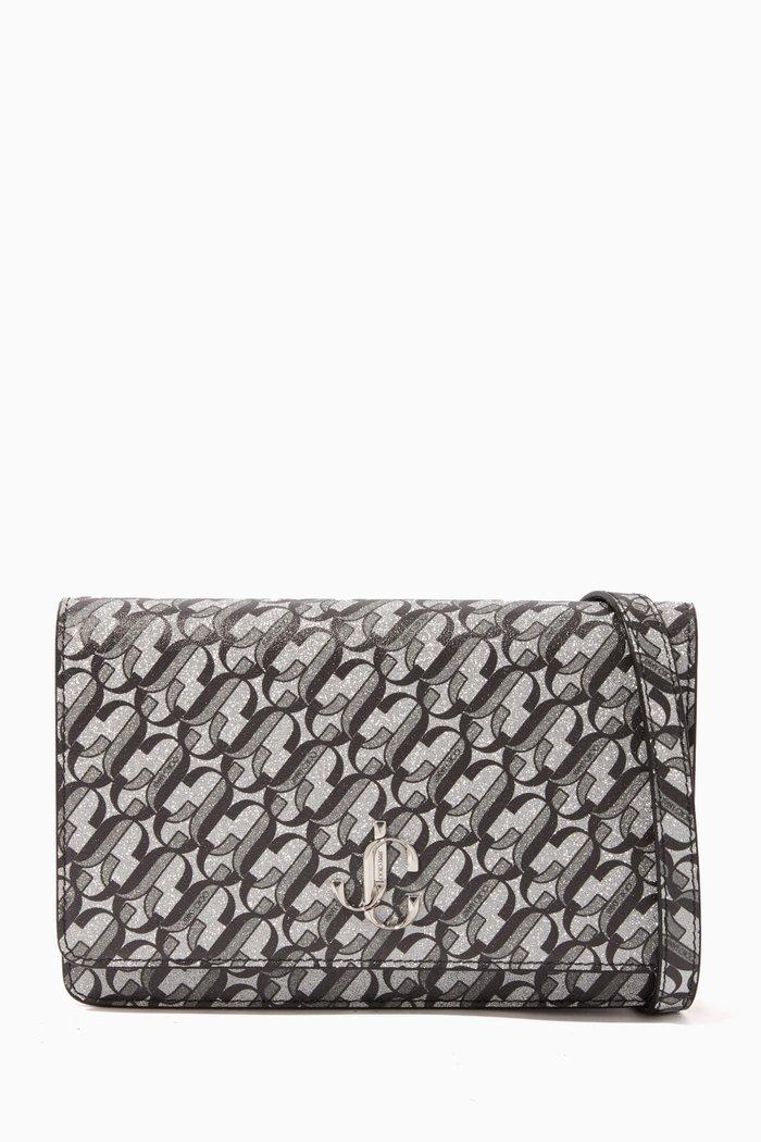 Palace JC Monogram Glitter Fabric Mini Bag