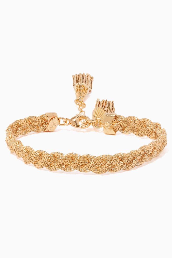 Tresse Gold-Plated Bracelet