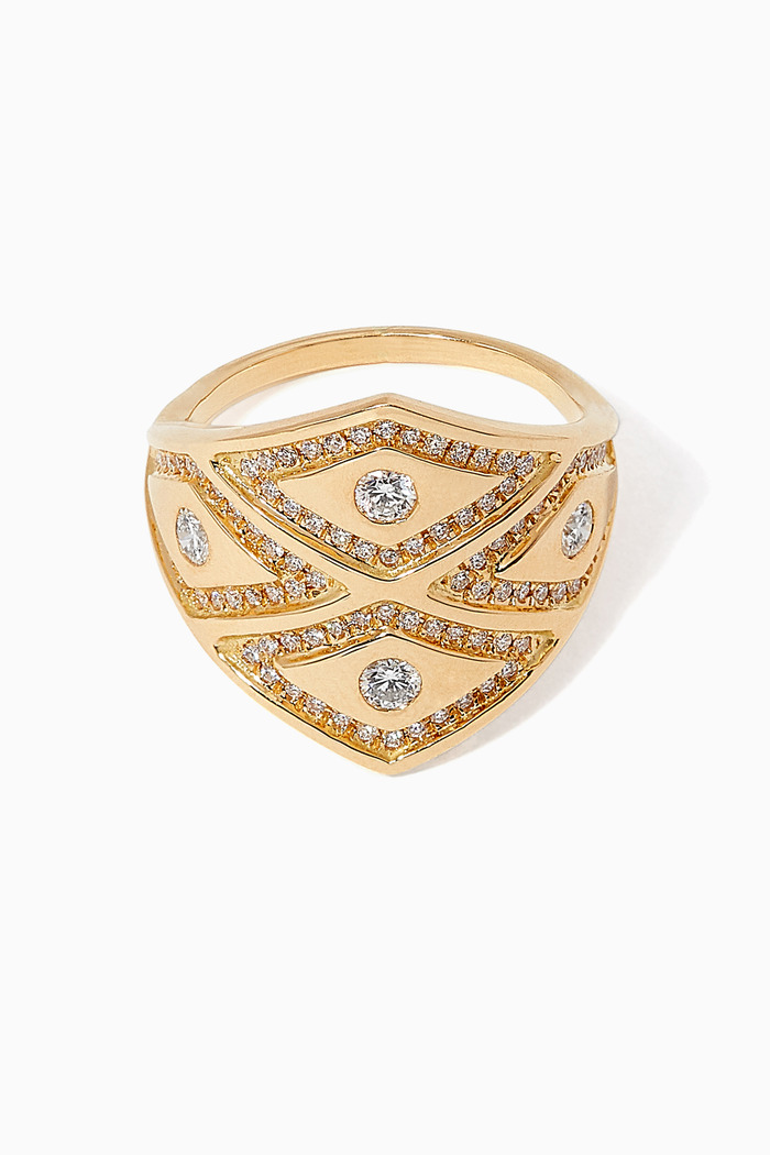 Heliopolis Rhombus Diamond Ring