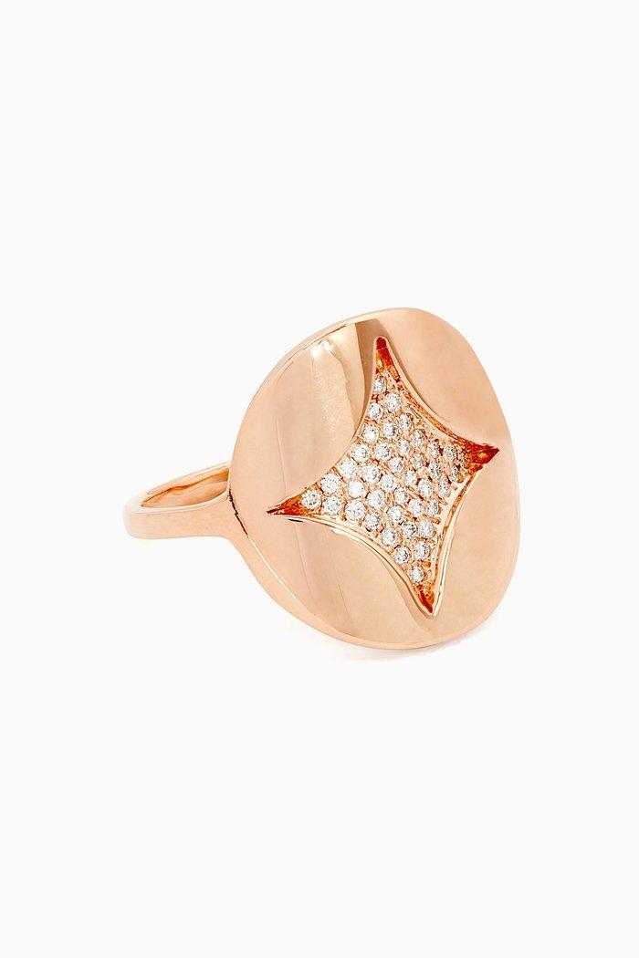 Heliopolis Round Diamond Ring