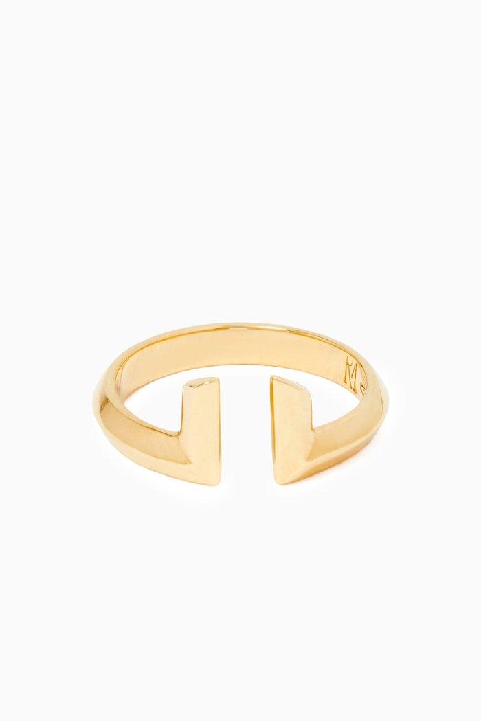 Phoenician Script Gold Ring
