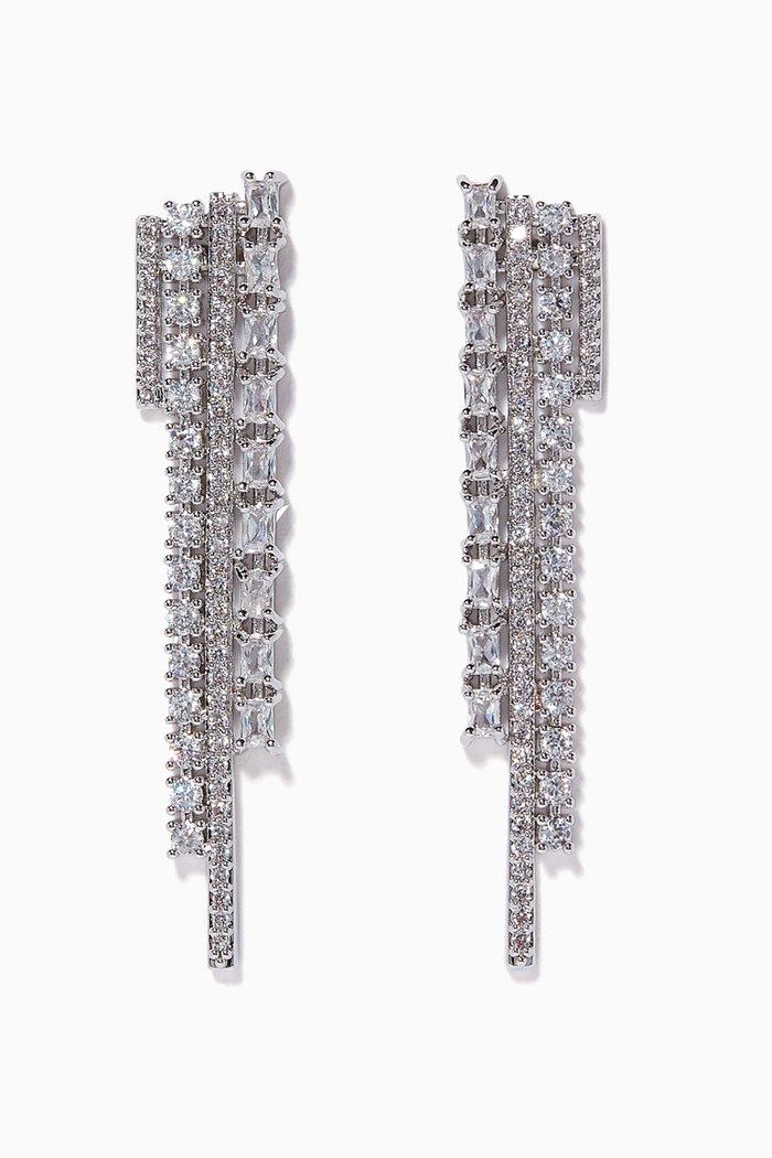 Bar Graph Earrings