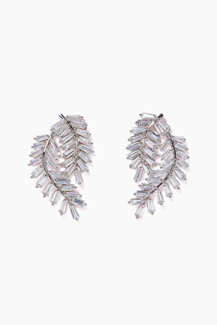 Fern Swag Stud Earrings