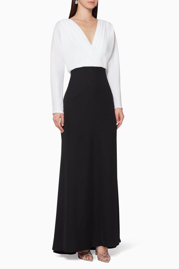 Elion Colour-Block Gown