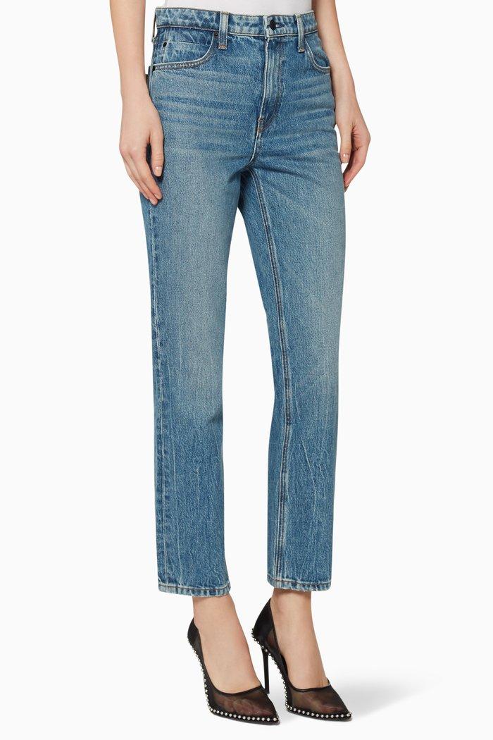 Cult Cropped Denim Cotton Jeans