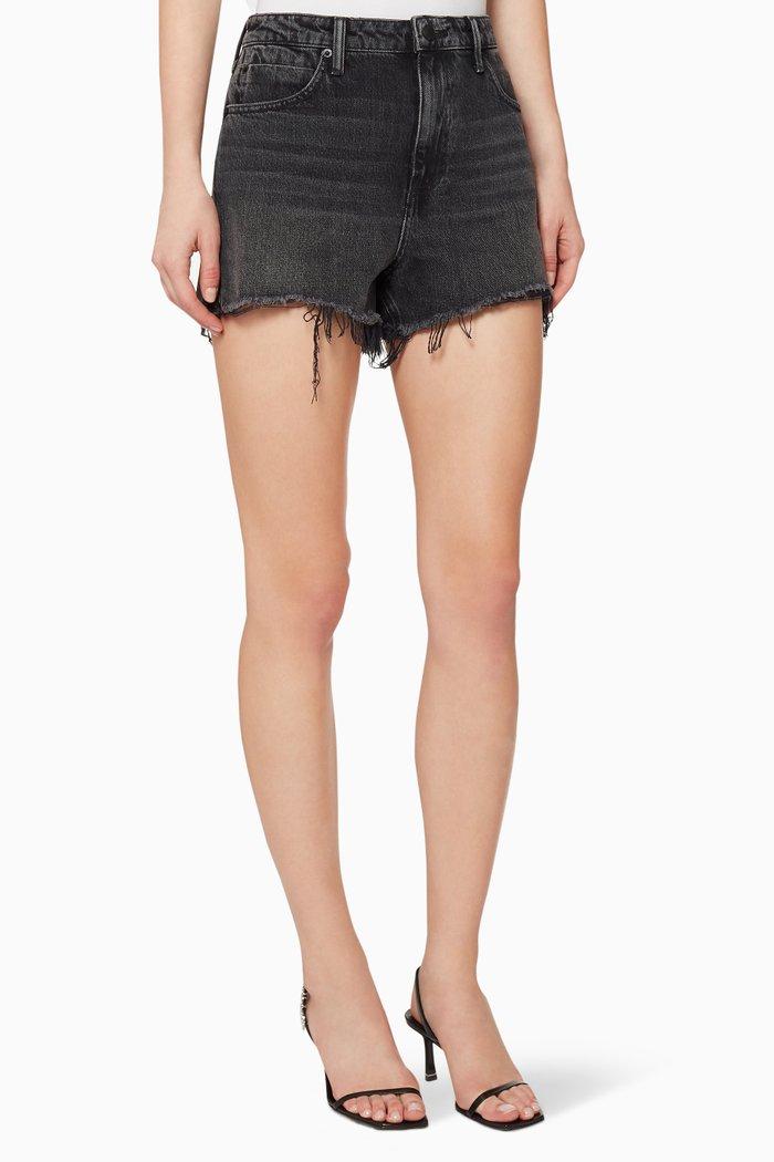 Bite Cotton Denim Shorts