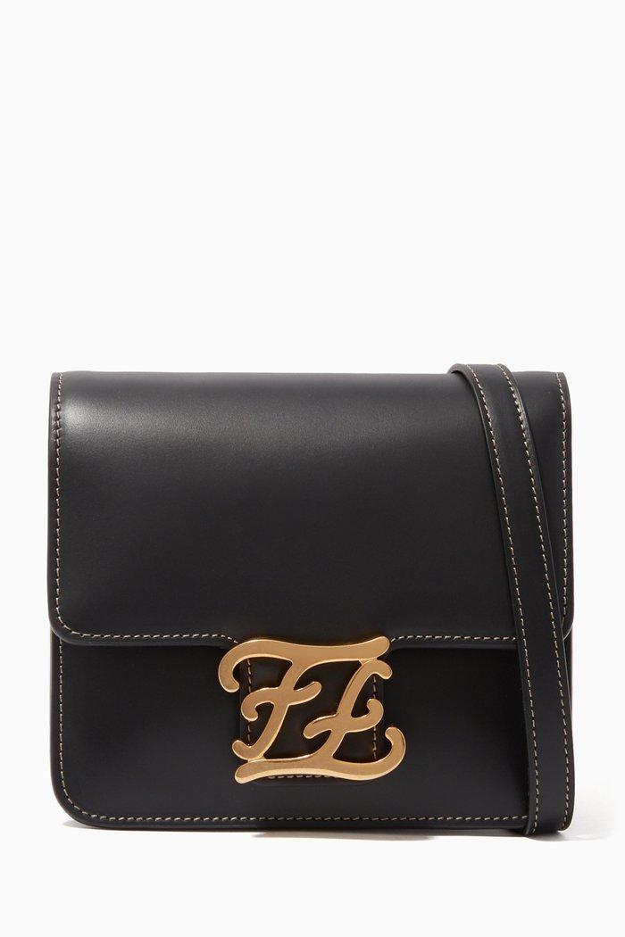 Karligraphy Calf Leather Bag