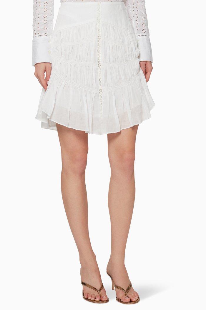Sidney Linen Skirt