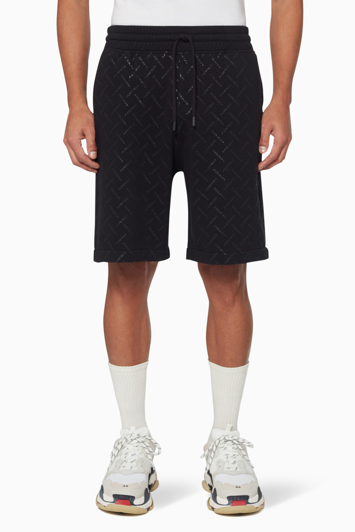 County Checked Cotton Shorts