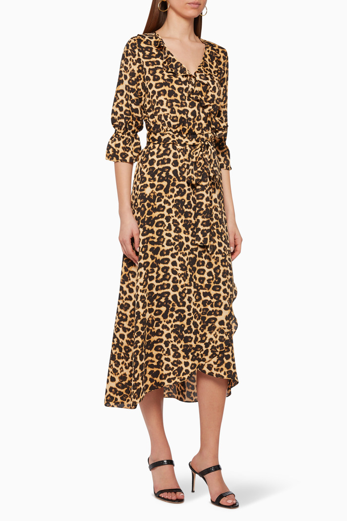 Belinda Leopard-Print Dress